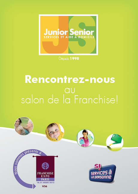 Retrouvez junior senior au salon de la franchise le blog for Le salon de la franchise